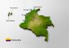 mapa da colombia turismo