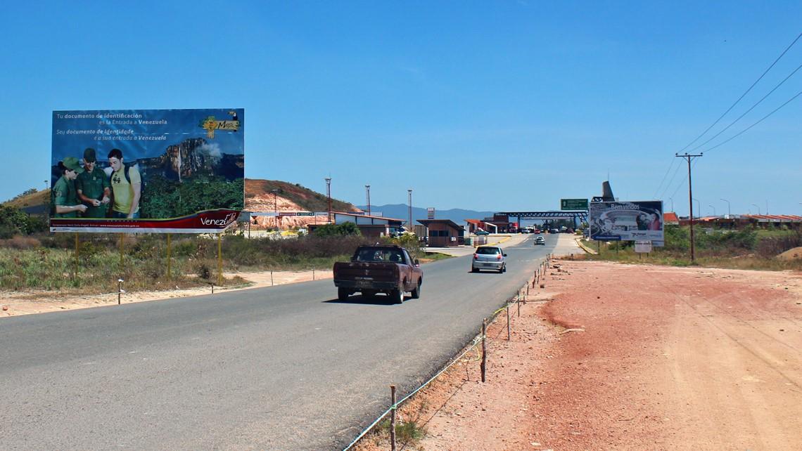fronteira brasil venezuela boa vista santa elena