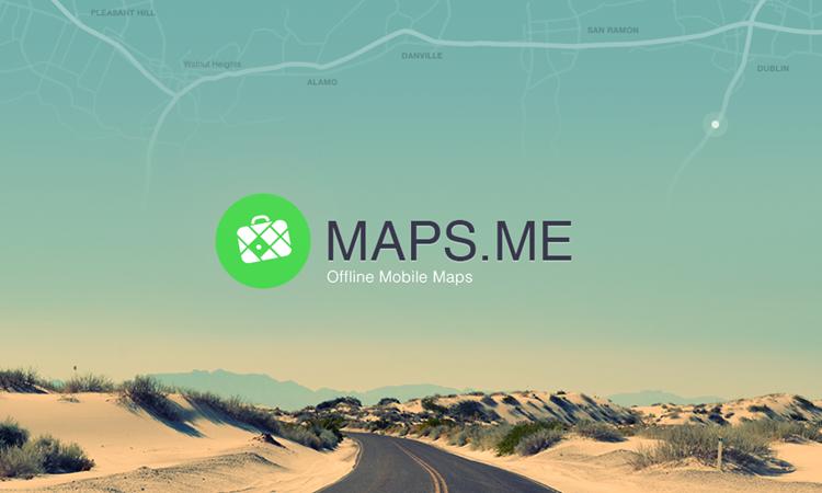 maps me offline
