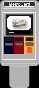 Maquinha ticket metro Nova York 2